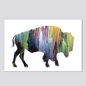 Bison / Buffalo Postcards (Package of 8)