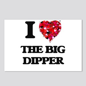 I love The Big Dipper Postcards (Package of 8)