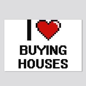 I love Buying Houses digi Postcards (Package of 8)