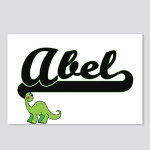 Abel Classic Name Design Postcards (Package of 8)