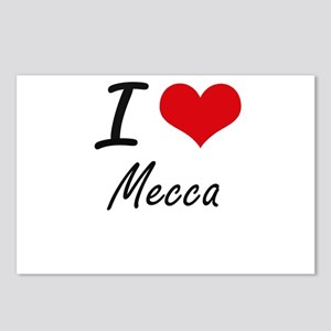 I Love Mecca Postcards (Package of 8)