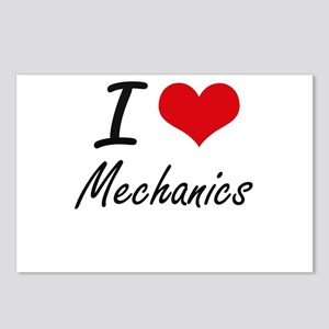 I Love Mechanics Postcards (Package of 8)