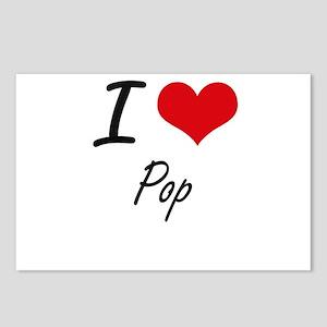I Love Pop Postcards (Package of 8)