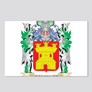 Gonzalez Coat of Arms (Fa Postcards (Package of 8)