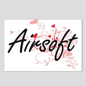 Airsoft Artistic Design w Postcards (Package of 8)