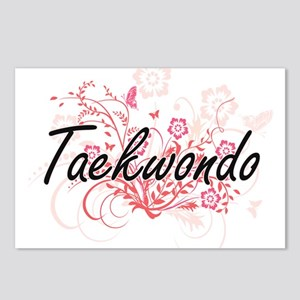 Taekwondo Artistic Design Postcards (Package of 8)