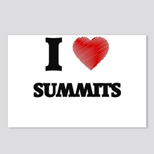I love Summits Postcards (Package of 8)