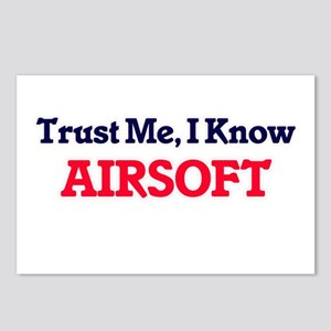 Trust Me, I know Airsoft Postcards (Package of 8)