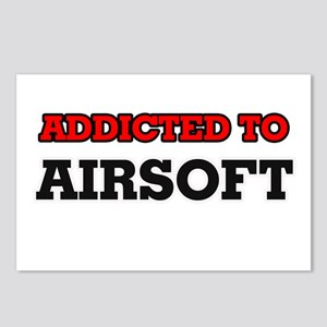 Addicted to Airsoft Postcards (Package of 8)