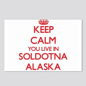 Keep calm you live in Sol Postcards (Package of 8)