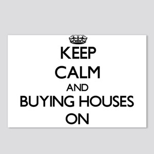 Keep Calm and Buying Hous Postcards (Package of 8)