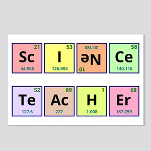 Science Teacher Postcards (Package of 8)