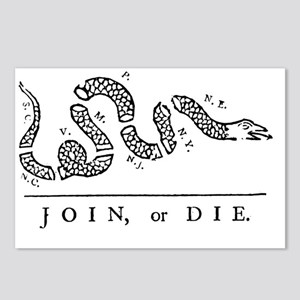Join or Die Tribute to Be Postcards (Package of 8)