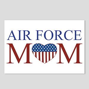 Patriotic Air Force Mom Postcards (Package of 8)