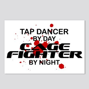 Tap Dancer Cage Fighter by Night Postcards (Packag