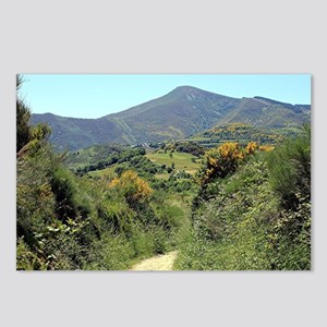 Mountains on El Camino ne Postcards (Package of 8)