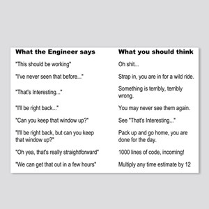 Engineer Translation Guid Postcards (Package of 8)