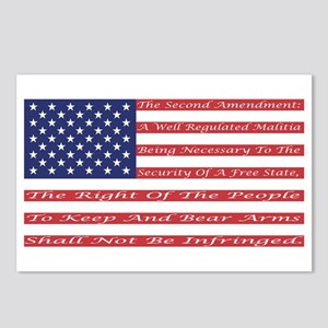 2nd Amendment Flag Postcards (Package of 8)