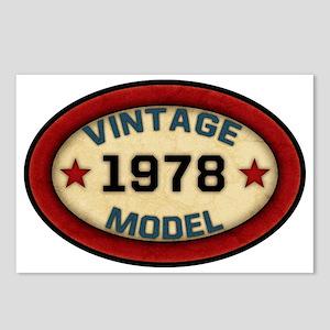 vintage-model-1978 Postcards (Package of 8)