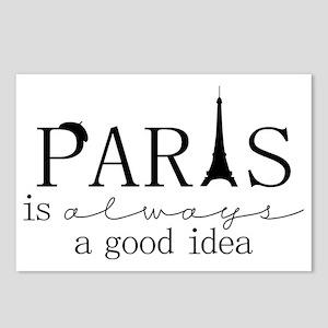 Oui! Oui! Paris anyone? Postcards (Package of 8)