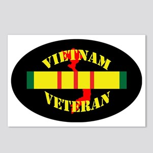 Vietnam-vet-map-0 Postcards (Package of 8)
