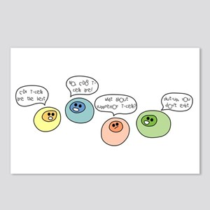 T Cell Wars Postcards (Package of 8)