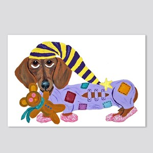 Dachshund Bedtime Postcards (Package of 8)