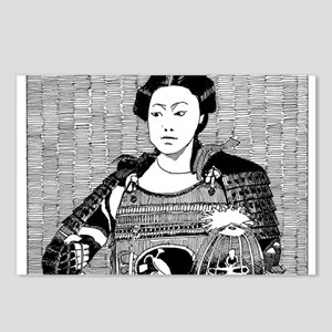 lady samurai Postcards (Package of 8)
