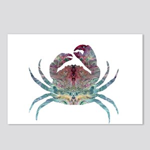 Colorful Crab Postcards (Package of 8)
