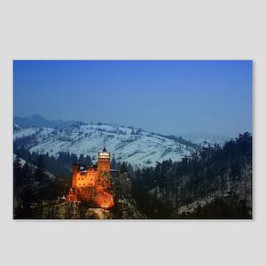 bran castle  Postcards (Package of 8)