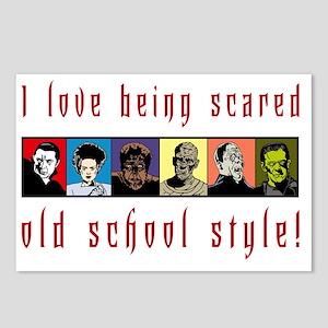 oldSchoolLight Postcards (Package of 8)