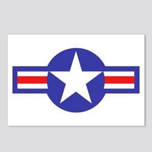 Air Force Star and Bars Postcards (Package of 8)