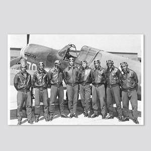 tuskegee airmen Postcards (Package of 8)