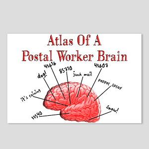 Postal Worker III Postcards (Package of 8)