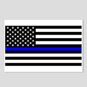 Police: Black Flag & The Thin Blue Line Postcards