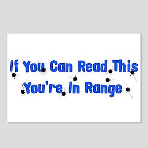 In Range Postcards (Package of 8)
