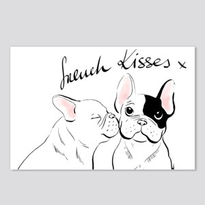 French Kisses Postcards (package Of 8)