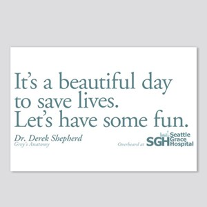 Save some lives. - Grey's Anatomy Postcards (Packa