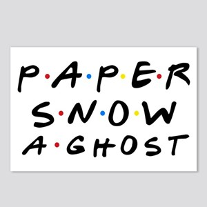 Paper Snow A Ghost Postcards (Package of 8)