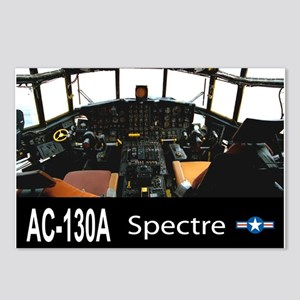 C-130 SPECTRE GUNSHIP Postcards (Package of 8)
