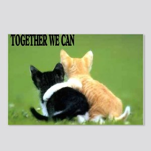 TOGETHER WE CAN Postcards (Package of 8)