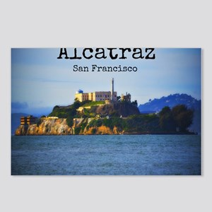 Alcatraz Island San Francisco Postcards (Package o