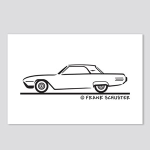 1961 Ford Thunderbird Hard Top Postcards (Package