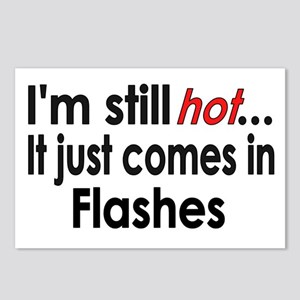 Menopause Hot Flashes Postcards (Package of 8)