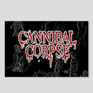 Cannibal Corpse Postcards (Package of 8)