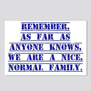 Remember As Far As Anyone Knows Postcards (Package