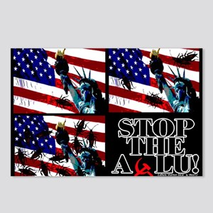 STOP THE ACLU! Postcards (Package of 8)