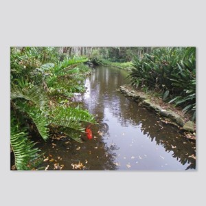 OLD FLORIDA FISH POND Postcards (Package of 8)