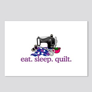 Quilt (Machine) Postcards (Package of 8)