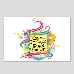 F Up Cancer Postcards (Package of 8)